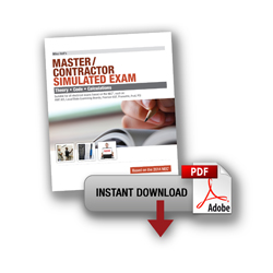 2014 Master Contractor Simulated Exam Download - 14MXPDF
