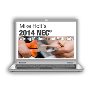 2014 NEC Wiring Methods Online Course ME EE Licenses - 14NC3OLKY