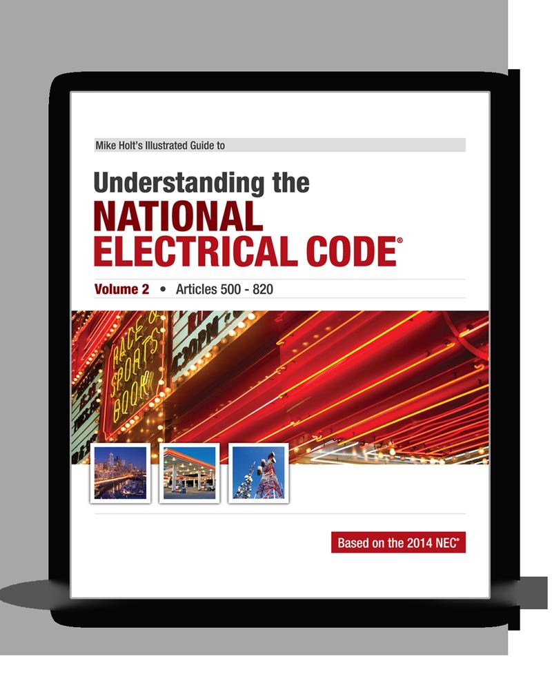 2014 Understanding the NEC Volume 2 Articles 500 820 - 14UND2