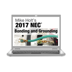 2017 Bonding and Grounding Article 250 Online Course - 17GBOL