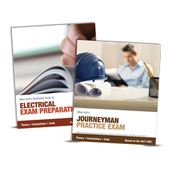 2017 Electrician Exam Preparation Book Journeyman Simulated Exam - 17EPJX