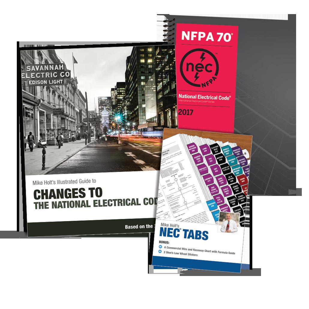 Mike Holt Codebooks Amp Tabs 2017 Nec Starter Package
