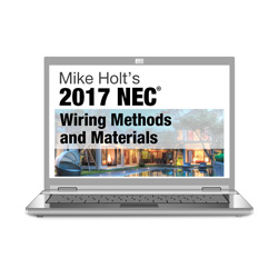 2017 NEC Wiring Methods Online Course - 17NC3OL