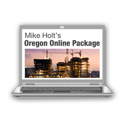 2017 Oregon Online CEU Course Package Code Changes Bonding Grounding Oregon Rules - 17OROLPK1