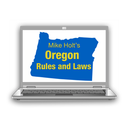 2017 Oregon Rules and Laws Online - 17ORRLOL