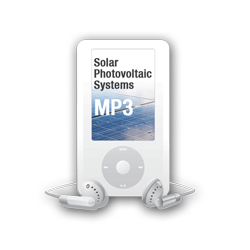 2017 Solar Photovoltaic Systems MP3 Audio Download - 17SOLMP