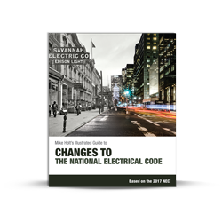 Changes to the National Electrical Code textbook 2017 NEC - 17BK