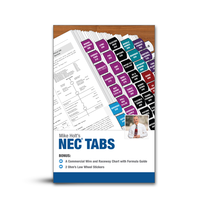Mike Holt Codebooks & Tabs - National Electrical Code Tabs