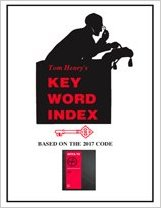 Tom Henry s Key Word Index 2017 Edition - 17KEYW