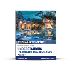 Understanding the National Electrical Code Vol 1 workbook 2017 NEC - 17UN1WB