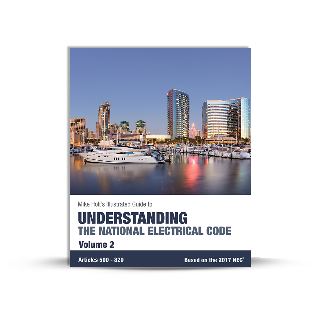 Understanding the National Electrical Code Vol 2 textbook 2017 NEC - 17UND2