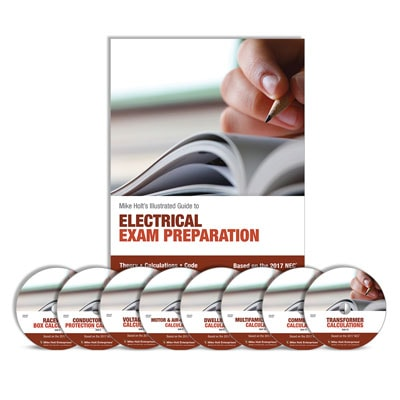Electricians Eletrical Exam Preparation Training Library with DVDs