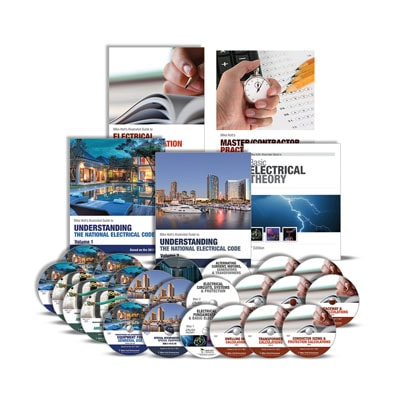 mike holt special offerselectricians exam preparation comprehensive library with dvds