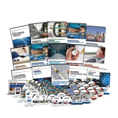Electricians Ultimate Training Library with DVDs