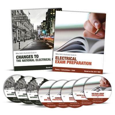 Electricians Exam Preparation Journeyman Intermediate Training Library with DVDs